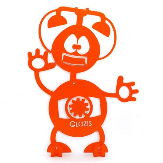 Вешалка настенная Детская Glozis Robot Phone H-008 26х22см