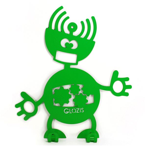 Вішалка настінна Дитяча Glozis Robot Mechanic H-009 26х22см