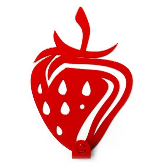 Вешалка настенная Крючок Glozis Strawberry H-032 12х8см