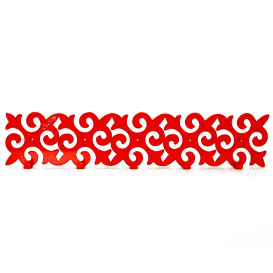 Вешалка настенная Glozis Pattern H-054 55х12см